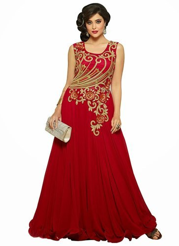Designer Indowestern Gowns At Rs 1695 Set Ladies Gown Id