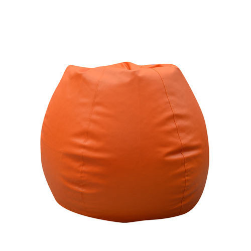 Kartik Bean Bags Leatherette Orange