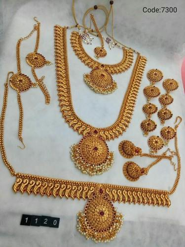 Copper Wedding Wear Exquisite Bridal Jewelry Sets 99f2d1399735