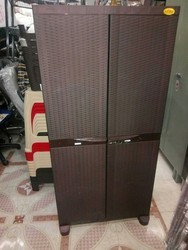 National Rattan Big-Cabinet Or Plastic Cupboard