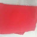 Plain Saree Red