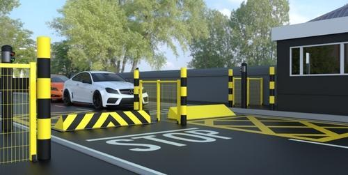 Automatic Rising Road Blocker