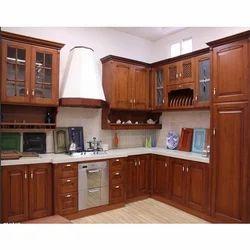 Wood Kitchen Cabinets Teak