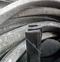 Solid 's' Shape Rubber Profile