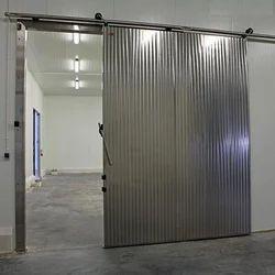 Sliding Stainless Steel Door