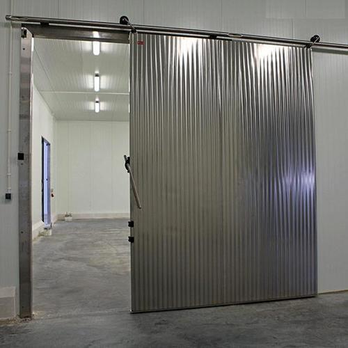 Sliding Stainless Steel Door