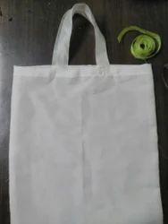 Bhaarat Handicraft White Cloth Bag