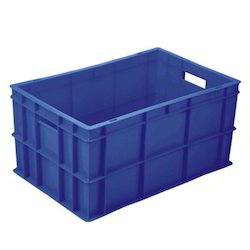Blue Plastic Crates