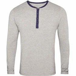 S Cotton/Linen Full Sleeve T Shirt