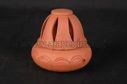 Terracotta Sambrani Stand