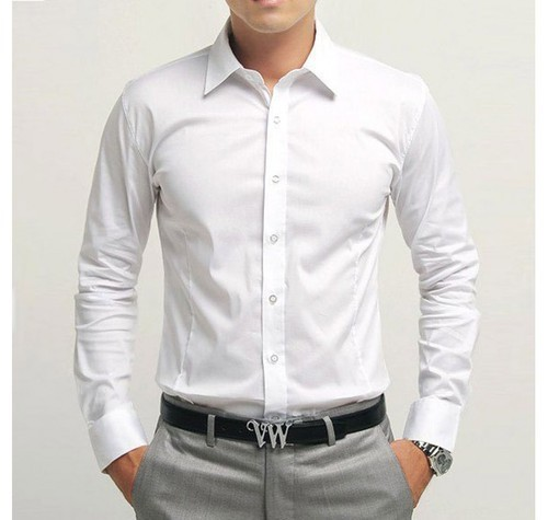 Formal White Shirt, Party, Wedding, Western, Formal Wear | Vinayak ...