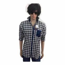 Linen Collar Neck Men''''S Shirt