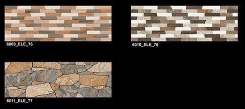 Patterned Digital Wall Tiles