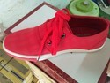 Red Snicker Canvas Shoe, Size: 6-10