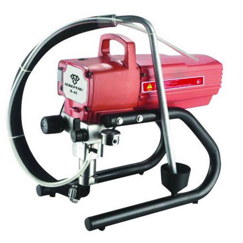 Hulk Lokpal Airlees Painting Machine Airless Paint Sprayer R450 Max Flow Standard Automation Grade Semi Automatic Rs 25800 Unit Id 8308083573