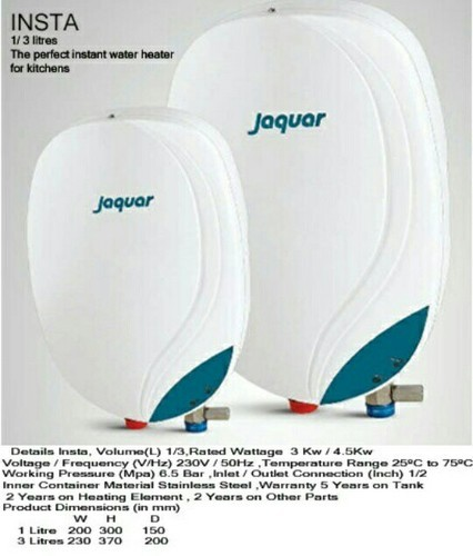 jaguar instant geyser / water heater at rs 2770 /unit | aliganj