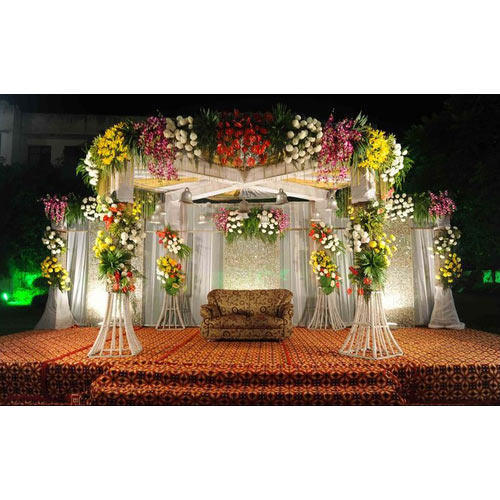 Decoration material stage decoration material wholesale trader wedding stage decoration material junglespirit