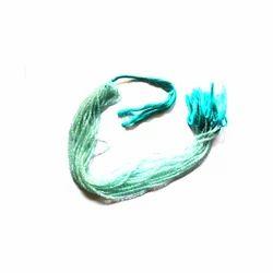 Aquamarine Roundel Shape Faceted Beads