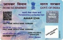 Pan Card Itr Returned File