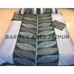 Silk Embroidery Bed Cover Banana Tree