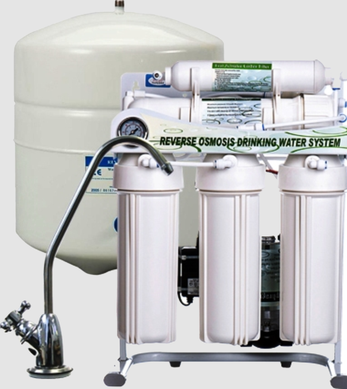 Under Sink Ro System With Pressure Tank Commercial Ro