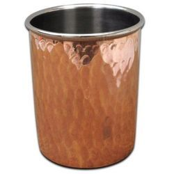 Copper Hammered Tumbler - NJO 6604
