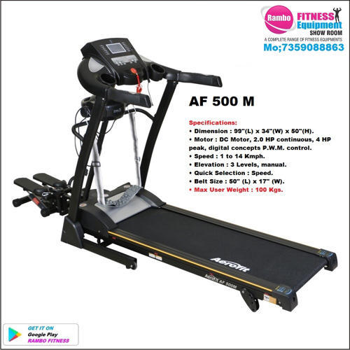 Aerofit Commercial Treadmill Price: Aerofit Domestic Use Manual Incline Treadmills