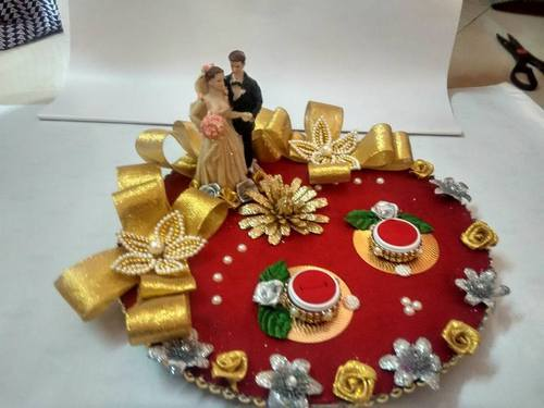 Engagement Ring Platter & Decorative Products - Engagement Ring Platter Manufacturer from Surat