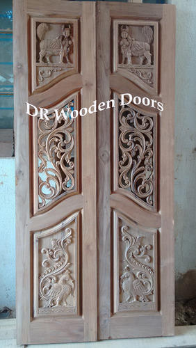 Pooja Wooden Door Pooja Door Manufacturer From Coimbatore