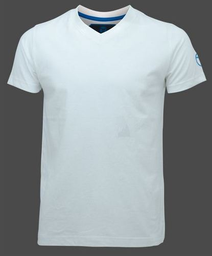 a4170fb758e Casual Mens V Neck Plain White T Shirt