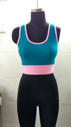 3237793f5 Comfortable Sport Fit Ladies Sports Bra Top