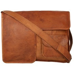 Genuine Leather Mac Book Messenger Bag MESS116