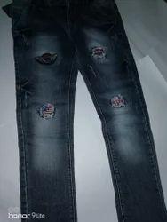 Dark Blue Comfort Fit Jeans, 18+