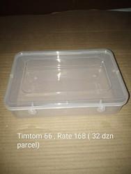 Transparent Plastic Boxes, Timtom 66