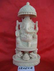 Ganesh Statue With Chatari