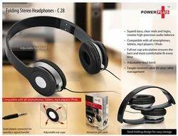 Folding Stereo Headphones - Power Plus C28