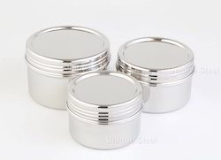Twist Top S.S Canisters