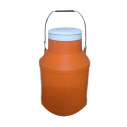 HDPE Plastic Calcium Cans with Steel Handle