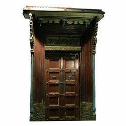 Satinwood Designed Door