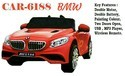 Plastic Fibre Battery Operated Bmw Ride On Car For Kids, 6188