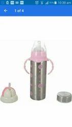 Kidoyzz Pink Multipurpose baby feeding bottle