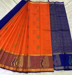 Korvai Silk Cotton Sarees