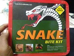 aid on Red Snake Bite Kit