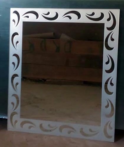 etched mirror at rs 110 square feet kirari suleman nagar new