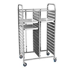 Stainless Steel Rack With Trolley