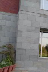 Kandla Grey Sandstone Tiles for Outdoor Wall Cladding