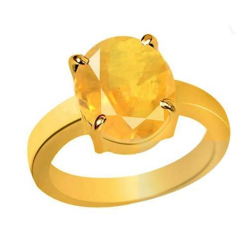 Pukhraj Gold Ring at Rs 2999 piece