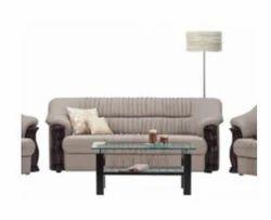 Godrej Interio D-Lion Fabric Seater Fabric Sofa