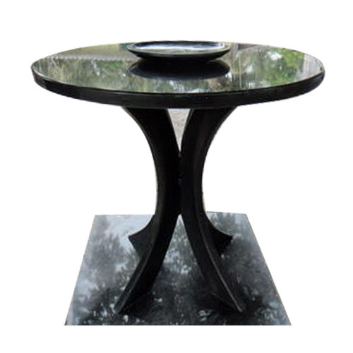 Granite Round Dining Table: Round Granite Top Dining Table
