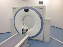CT Scan Single Slice Machine